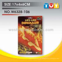 Dinossauro de simulação de borracha suave TPR