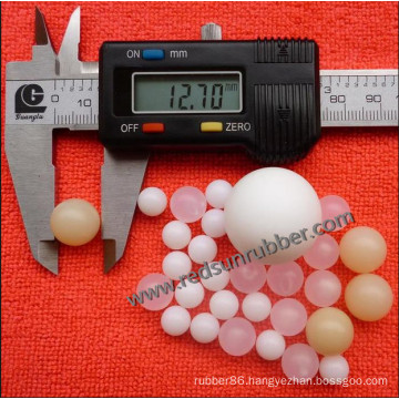 Transparent Silicone Ball