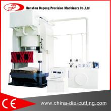 Machine hydraulique de presse de fil d'acier pour de grandes plaques minces de coquille