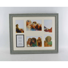 Collage Mat Plastic Photo Frame for Wall Deco