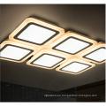 Elegante techo cuadrado LED que enciende la luz de cristal para la vivienda decorativa