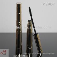 MS8039 mascara cosmétique tube en plastique