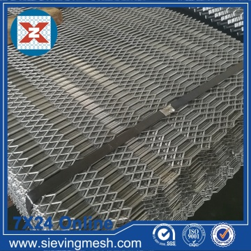 Sheet Metal Expanded Hexagonal