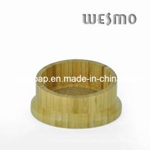 Bambus Weinflaschenhalter und Caddy