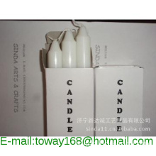 STICK CANDLES/WHITE STICK CANDLES/ FOR DAILY LIGHTING/HOUSEHOLD CANDLE