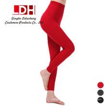 Pantalones de mujer de cachemira pantalones de punto Mujeres de lana de invierno leggings Ladies Warm Standard Pant