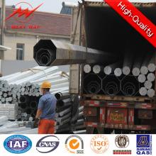 9,5 m eléctrica postes de utilidad de acero para la venta de energía