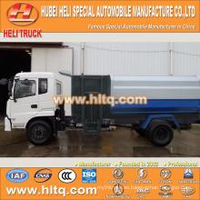 DONGFENG 4x2 12CBM auto cargadora de basura lado del camión cargador motor diesel 190hp
