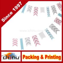 Ginger Ray Chevron Bunting pendurado decoração do partido - Chevron Divine (420025)