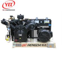 Compresor neumático 350CFM 580PSI 40HP del compresor de aire del martillo neumático de alta presión
