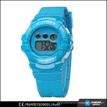 Reloj digital de la señora de la fábrica de SHENZHEN