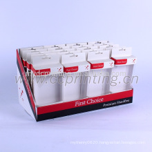 Luxury printed corrugated cardboard gift display box