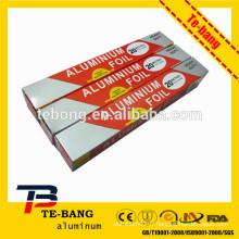 Prix d'usine 8011 Emballage alimentaire Ménage en aluminium