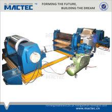 auto máquina de gravação de alta velocidade do metal para a bobina de aço
