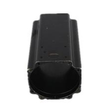black powder coated aluminum profile 6000 series aluminium extrusion