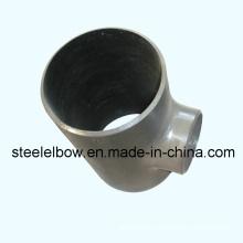 Carbono acero Tee empalme