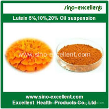 Extracto de Caléndula Luteína pura 5% -98% CAS No. 127-40-2