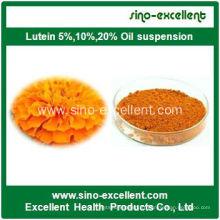 Extrait de craquelins Pure lutéine 5% -98% N ° CAS 127-40-2