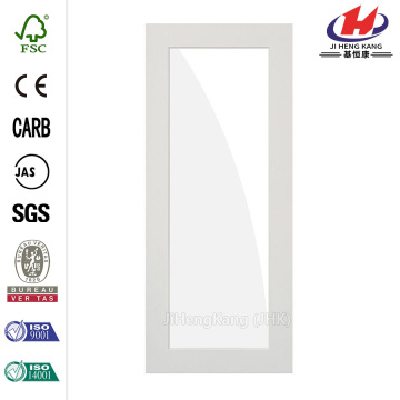 Etch Solid Core MDF Primed Right-Hand Prehung  Door