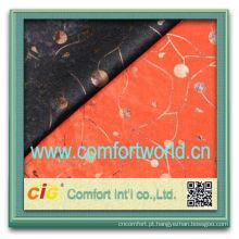 Moda mais recente estilo china ningbo abastecimento poliéster tecido de algodão Jacquard têxtil atacado
