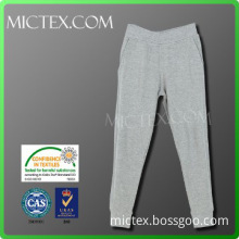plain long men cotton trousers OEM (OEKO-TEX,ISO9001,SGS Certification