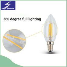 E27 E14 Verre 110V 220V Lampe à LED Filament