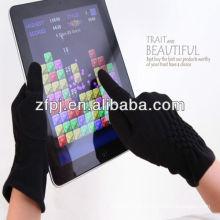 Más nuevos guantes de lana de Smartphone de la manera, guantes de la pantalla táctil de las lanas