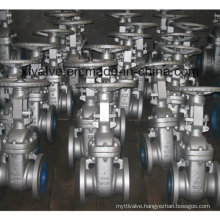 Outside Thread Bolted Bonnet Metal Seated Gate Valve