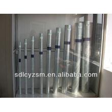 duto de aço galvanizado / Tubos e tubos de aço Galvanzied