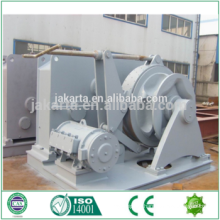 Hydraulic boat drum anchor winch for Indonesia