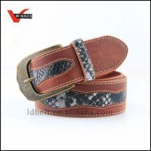 Cintos de cintura de couro genuíno de moda durável