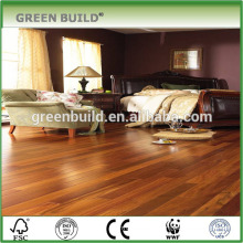 South American teak hardwood flooring apartment project