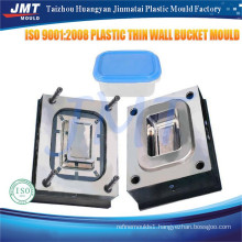 Customs industrial plastic paint bucket mould price