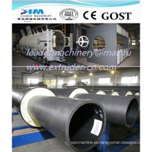 Tubos de revestimiento de PE HDPE Línea de extrusión / PE Aislamiento térmico Aparato de extrusión de tubos / 110 mm 450 mm 560 mm 710 mm 1200 mm 1600 mm
