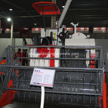 ODM for Rice Paddy Cutting Machine Fuel-efficient price Full-feeding rice combine harvesting export to Chad Factories