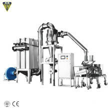 bay moringa tea leaf grinder powder making grinding cutting machine