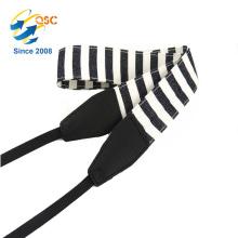 Unterstützungskamera-Plastikschnallen-Zusätze Baumwolle und PU-Streifen-Kamera-Bügel