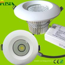 9W de 7W COB 18W LED abajo luz con el CE, RoHS aprobadas