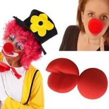 Red Sponge Promotional Clown Nose for Costume Party