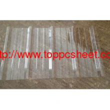 Clear Corrugated Polycarbonate Sheet