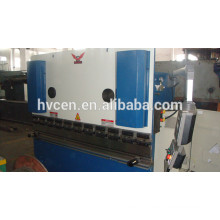 CNC máquina de dobra hidráulica folha WC67K-80T / 2500