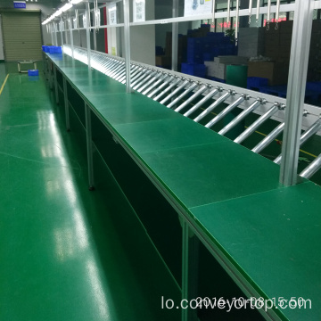 Gravity Conveyor Roller Assembly Line
