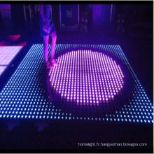 Plancher de danse interactif de pixel de 8X8 LED pour le club de disco