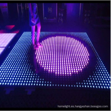 8X8 Pixel LED Interactive Dance Floor para Disco Club