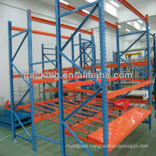 Jracking FIFO system roller skates rack