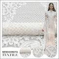 Новый классический стиль белый свадебный сетки шнур кружева дизайн вышивки