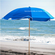 Wooden Pole Outdoor Beach Umbrella