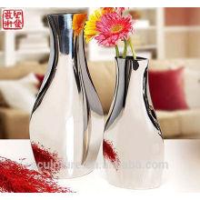2016 New 304 Stainless Steel Art Vase à fleurs moderne Décoration intérieure Potiche