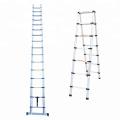 5m A type telescopic ladders aluminium with EN131
