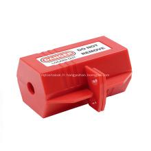 Verrouillage de prise électrique de sécurité en polypropylène de haute qualité